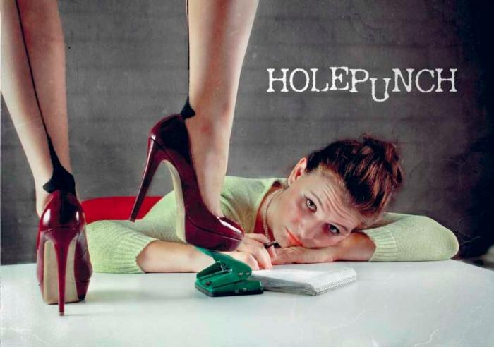 Holepunch postcard